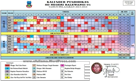 Kalender Tahun Pelajaran 2013_2014
