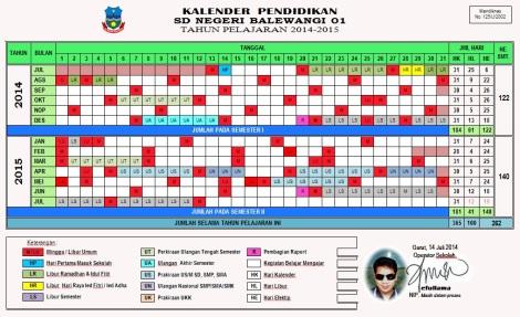 Kalender Pendidikan 2014-2015 OK efullama