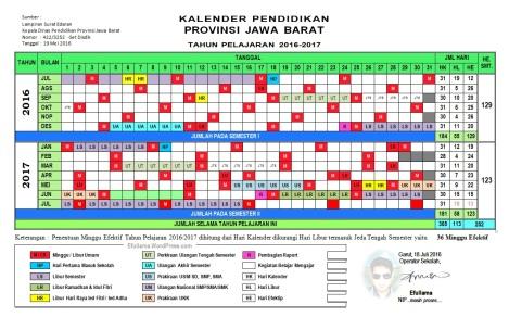 Kalender Pendidikan Efull Ma