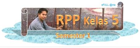 RPP Kelas V Semester 1