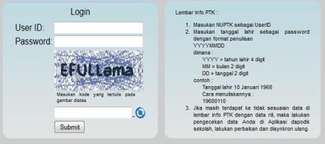 info cek Tunjangan PTK 2014