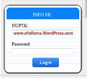 SK Tunjangan Fungsional Sertifikasi 2013