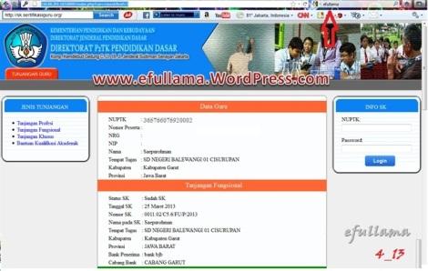 SK Tunjangan Fungsional Sertifikasi 2013b