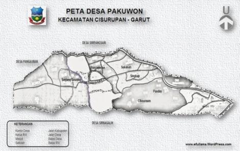 12 PETA DESA PAKUWON