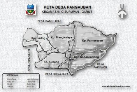 14 PETA DESA PANGAUBAN