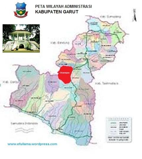 Peta Kabupaten Garut Efullama