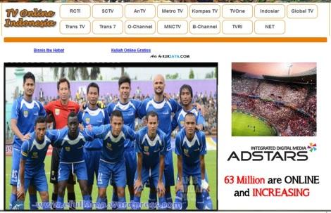 tv online Indonesia nonton Persib