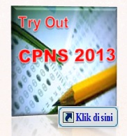 a try out cpns 2013
