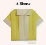 1b Origami Baju kemeja efullama