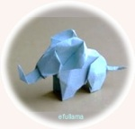 1c ORIGAMI gajah efullama