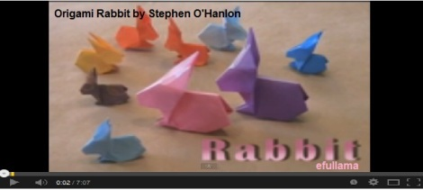 Video YOUTUBE ORIGAMI STEPHEN_efullama
