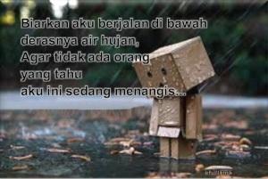 Menangis dalam hujan
