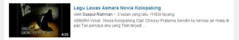 11 youtube lirik lagu asmara Novia by efullama