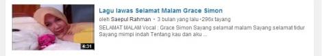 16 youtube lirik lagu lawas selamat malam Grace simon by efullama