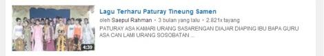 18 youtube lagu samen paturay tineung by efullama