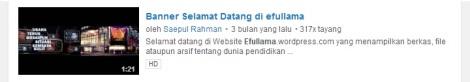 4 youtube banner selamat datang di efullama