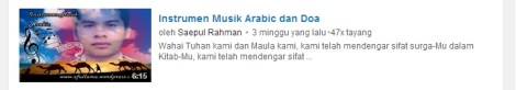 5 youtube instrumen musik arabik by efullama