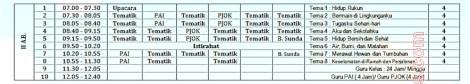 jadwal pelajaran kurikulum 2013 umum 2 by efullama