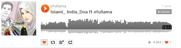 15b soundcloud efullama islami india doa
