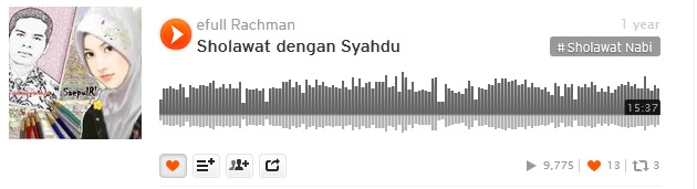 4b soundcloud efullama sholawat syahdu 31D14
