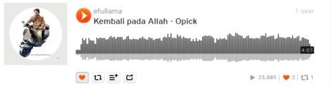 7b soundcloud efullama kembali pada Allah by opick